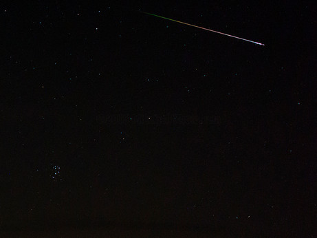 Shooting the Perseids