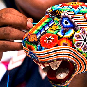 Arte colorido  Wixarika (Huichol)
