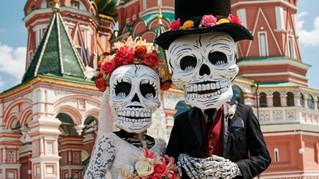 Día de muertos llegó a Moscú