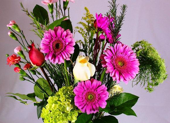 Daisies & Roses mix