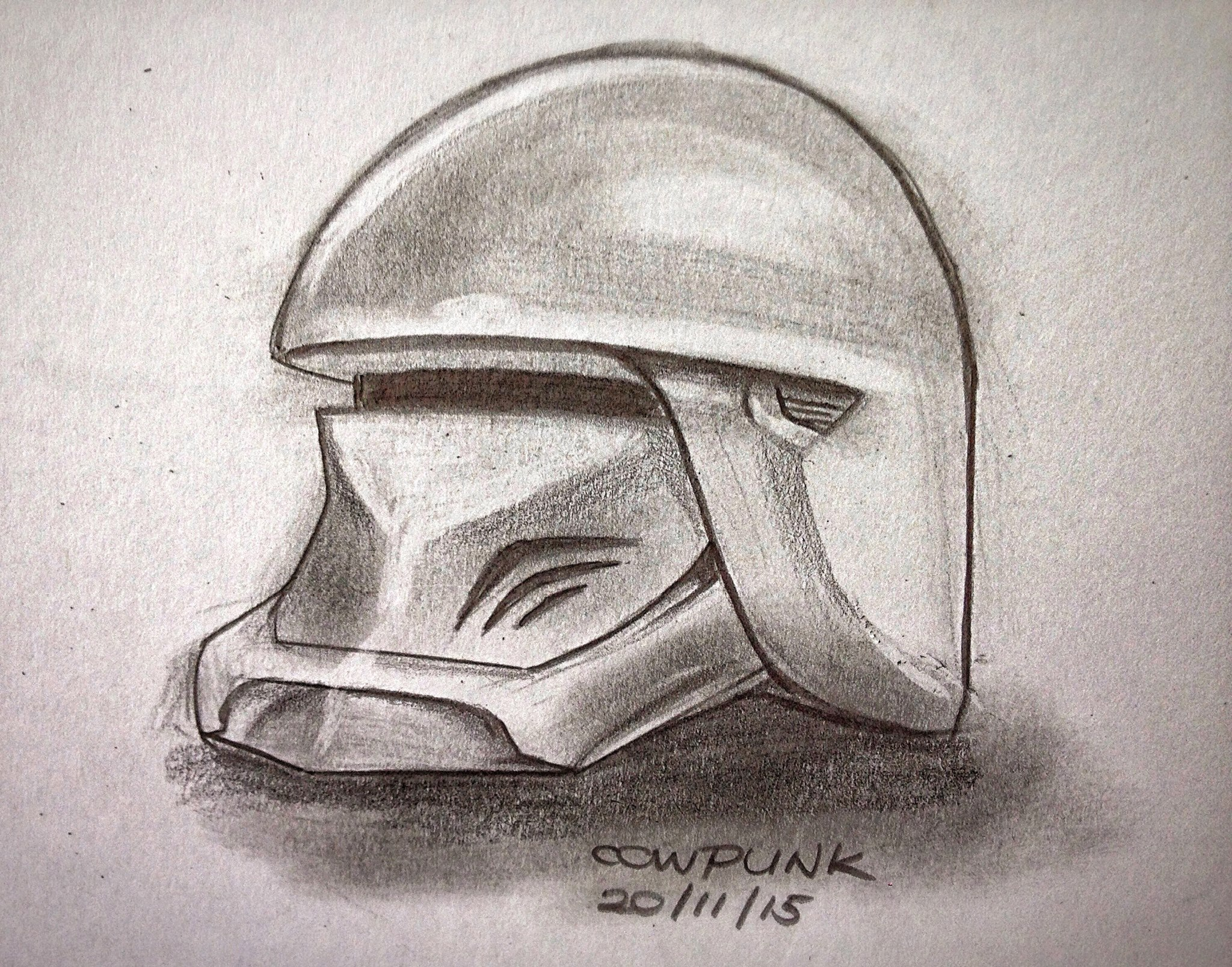 Storm Trooper Helmet Design