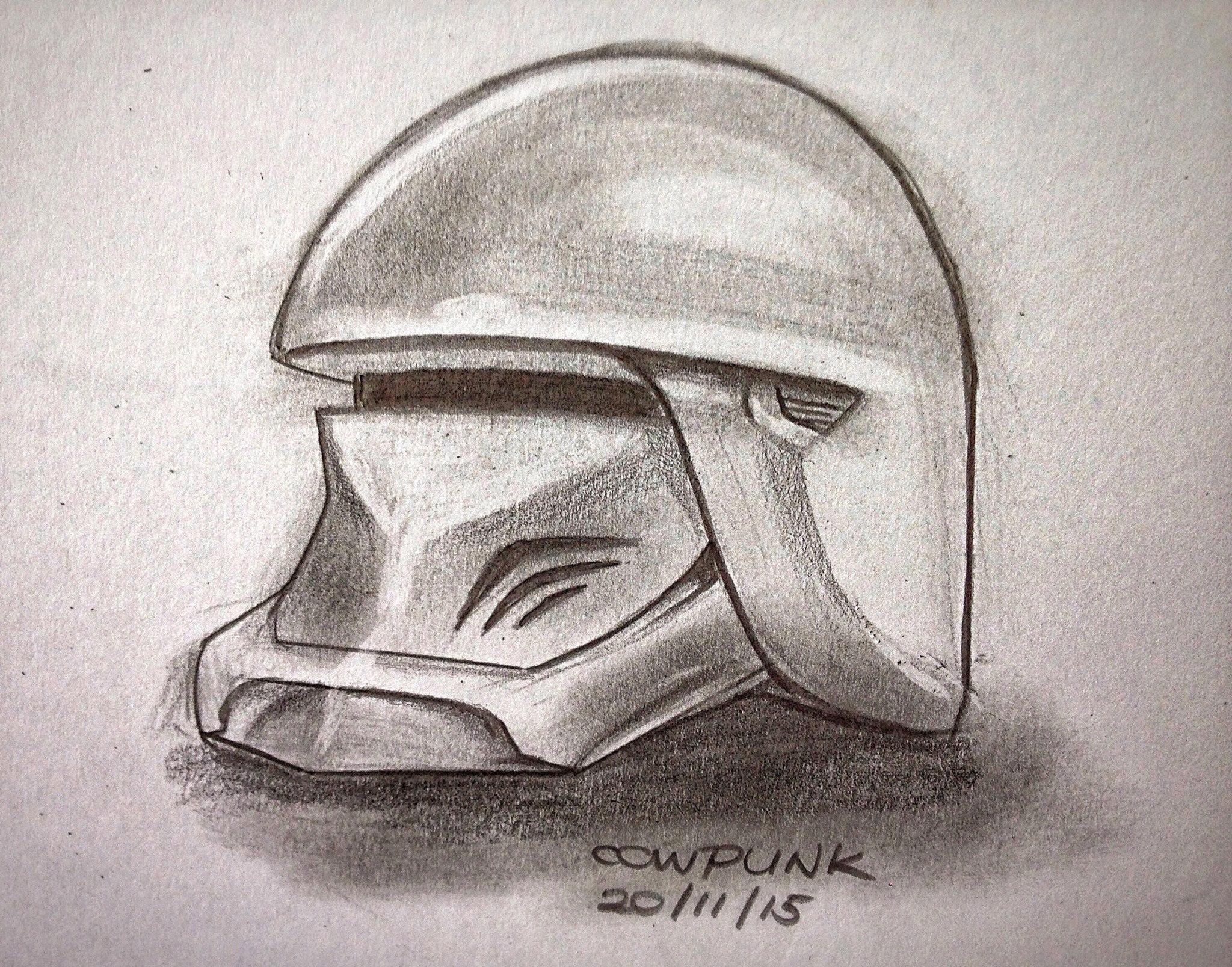 Storm Trooper Helmet Design
