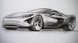 E-GT Car Design Concept