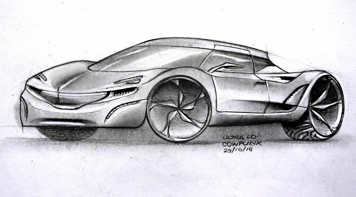 Ultra Light E-GT Concept