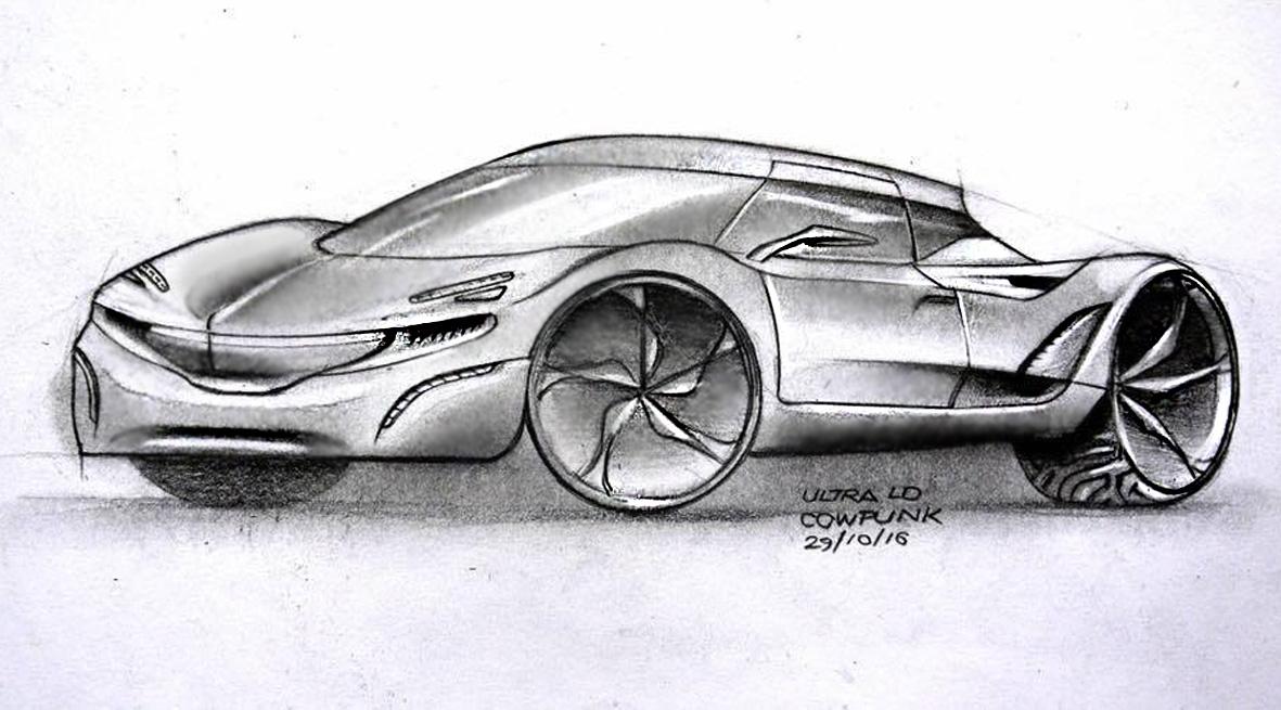 Ultra Light E-GT Concept