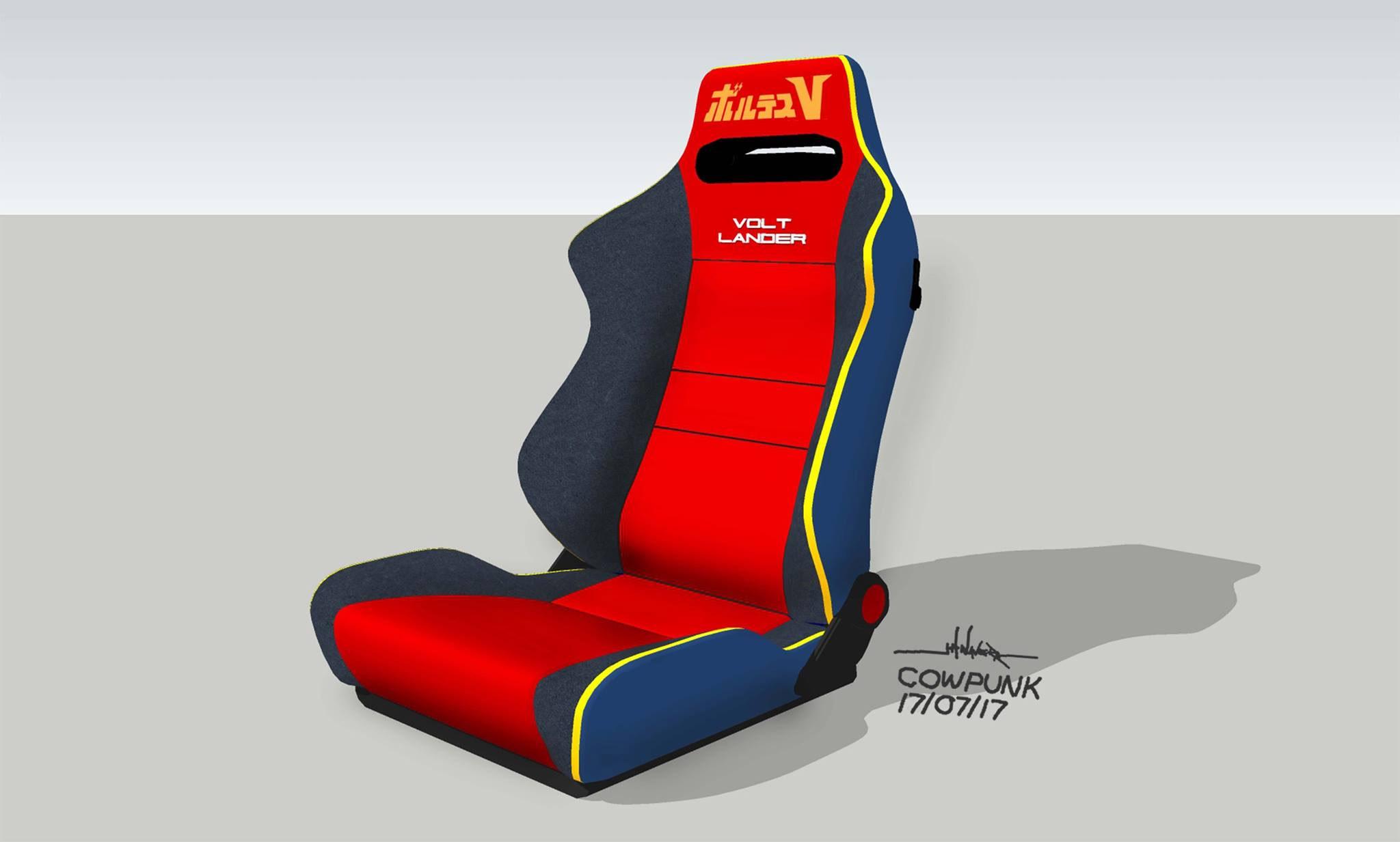 Volt Lander Bucket Seat