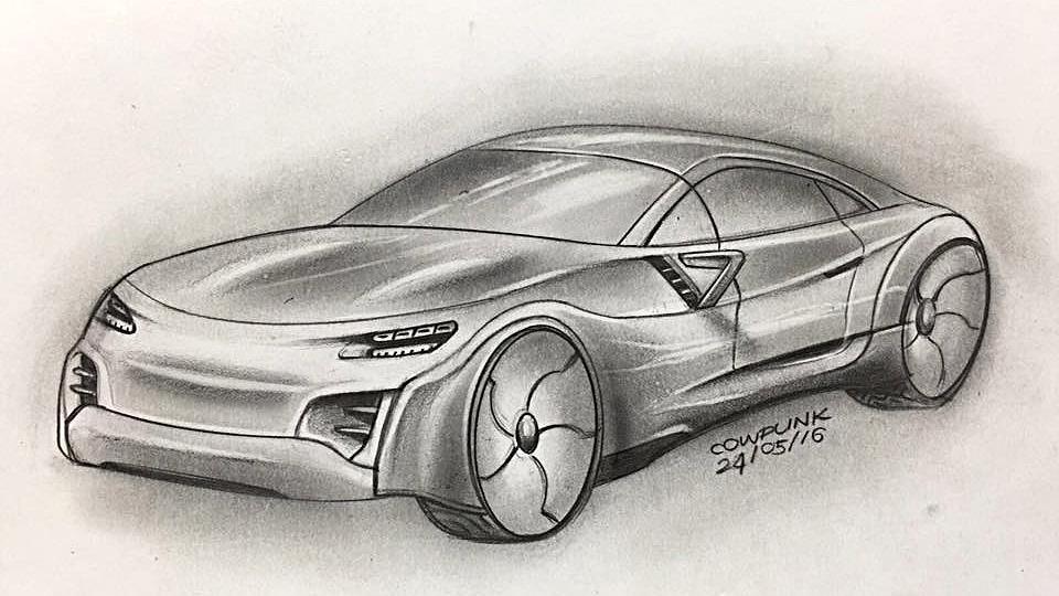Electric Supercar Concept