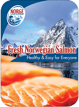 Norge Norwegian Salmon Flyer