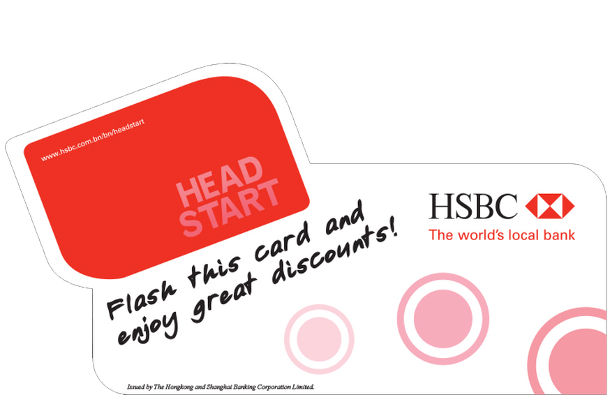 HSBC Head Start Card 2007 Sticker