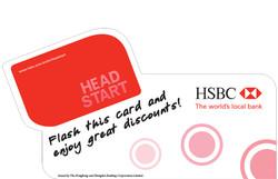 HSBC Head Start Card 2007 Sticker