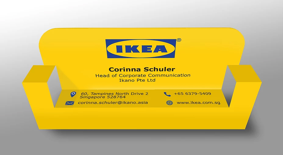 IKEA Business Card Front