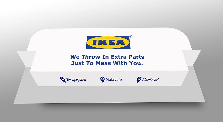 IKEA Business Card Back