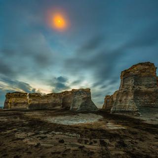 Monuments Rock Kansas 2
