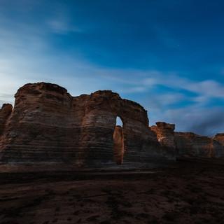 Monuments Rock Kansas