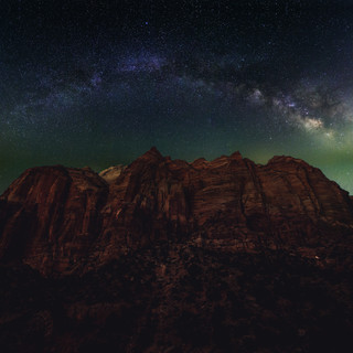 Milky Way Zion National Park
