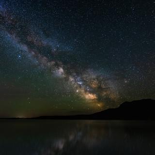 Milky Way Wyoming