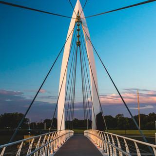 Keeper of the Plains Bridge