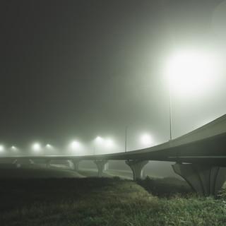 Foggy Evening Kansas