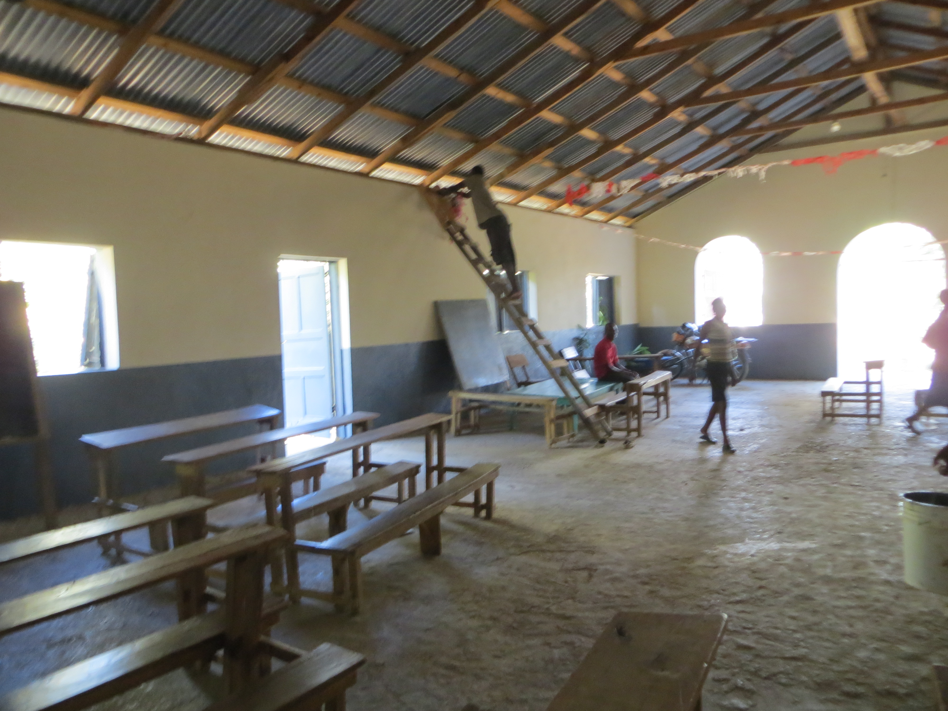 Painting the Sanctuary