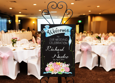 Wedding: Richard and Naoko