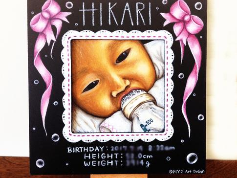 チョークアート、誕生日, Chalk art, Birthday