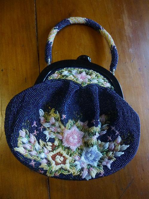 Beaded Handbag Flower Bouquet