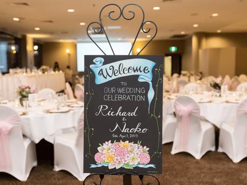Wedding, welcome board,ウェディング、ウェルカムボード
