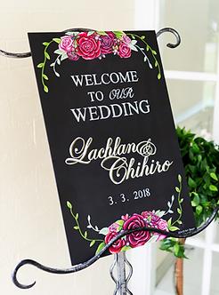 Wedding: Lachlan and Chihiro