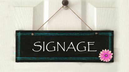 Signage 看板