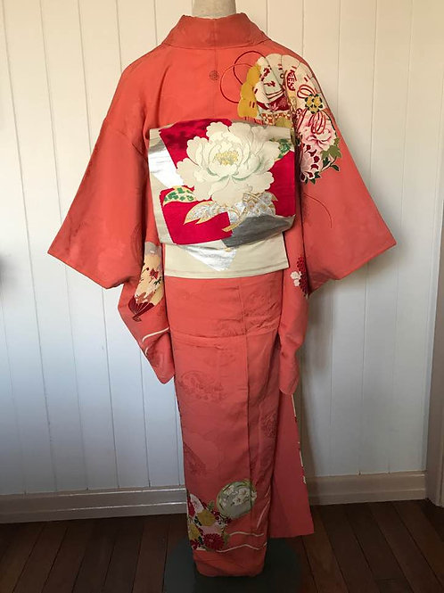 Complete Kimono Outfit Pink