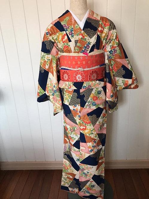 Complete Kimono Outfit Blue