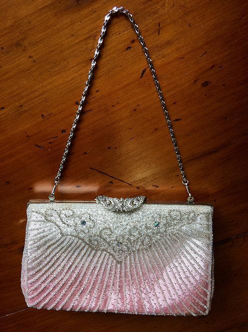 Beaded Handbag Pink