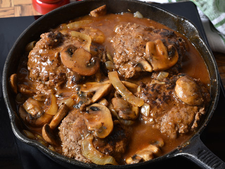 Salisbury Steak - Ground Beef or Cube Steak