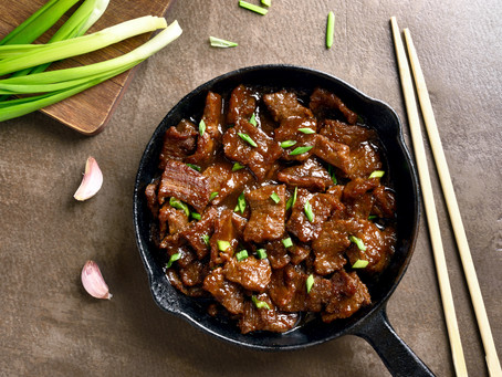 Mongolian Beef - Sirloin Steak or Stew Meat