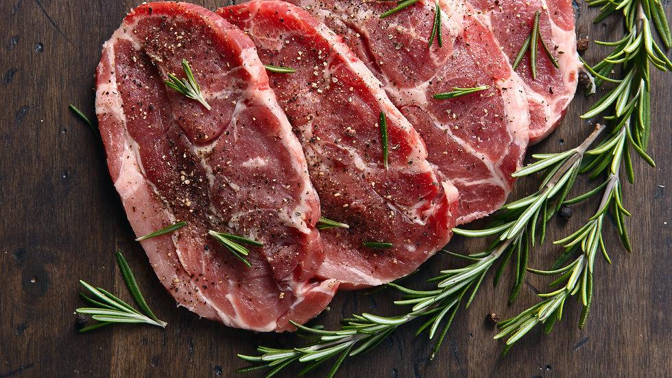 Pork Shoulder Steak (2-1lb Steaks)