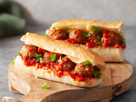 Meatball Subs - Ground Beef
