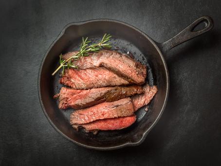 Cast Iron/Oven Finished Sirloin Steak