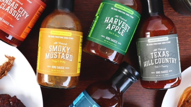 Harvest Apple BBQ Sauce by American Stockyard