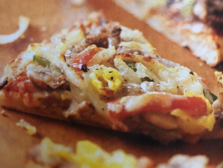 Philly Cheesesteak Pizza - Chuck, Arm or Rump Roast