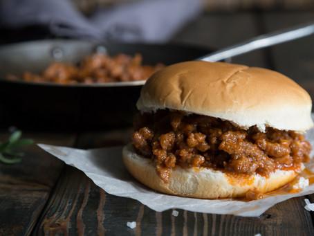 Church Supper Sloppy Joe - Ground Beef
