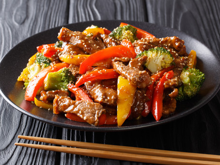 Teriyaki Stir Fry - Fajita Strips, Stew Meat or Ground Beef