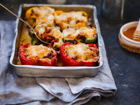 Stuffed Peppers - Ground Beef
