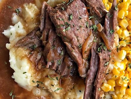 Steak and Gravy - Round Steak