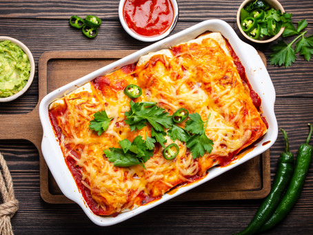 Beef Enchiladas - Ground Beef or Rump/Chuck Roast