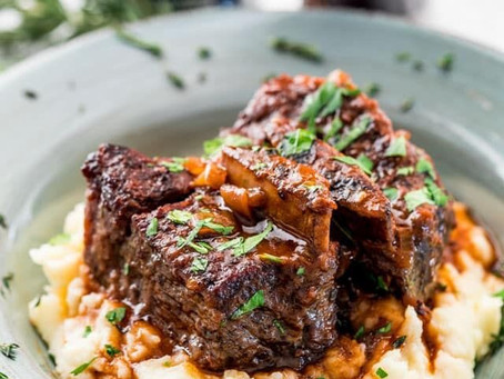 Guinness Braised Short Ribs - Short Ribs