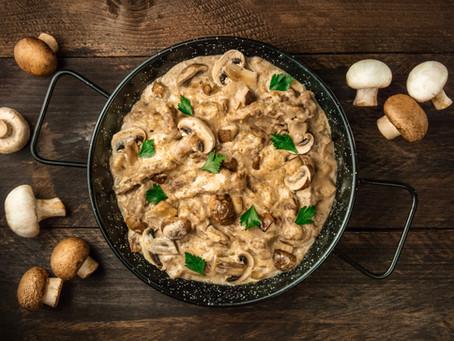 Beef Stroganoff - Stew Meat