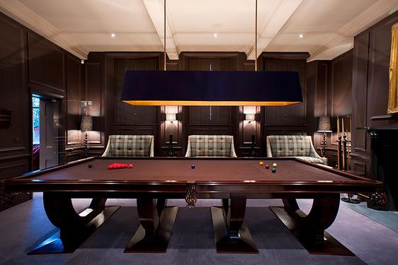 Stancliffe Hall Billiard Room