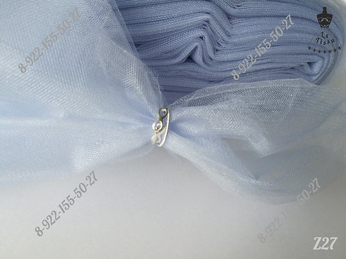 Фатин средней жесткости, голубой