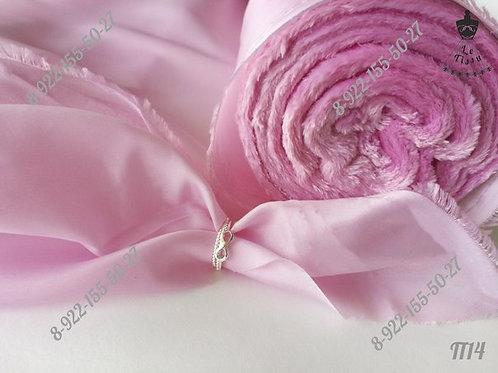 Подклад, розовый