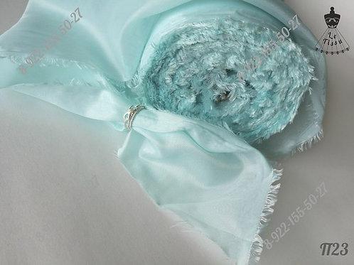 Подклад, мятно-голубой